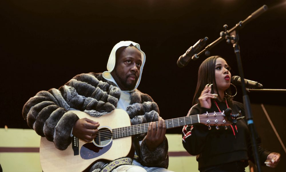 Wyclef Jean Joins VH1 Save The Music Foundation and Toyota to Present Music Technology Grant to South Philadelphia High School