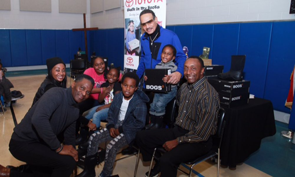 """Toyota Kicks Off Detroit Auto Show with Its """"Walk In My Boots"""" Community Outreach Program By Helping Local Families In Need"""