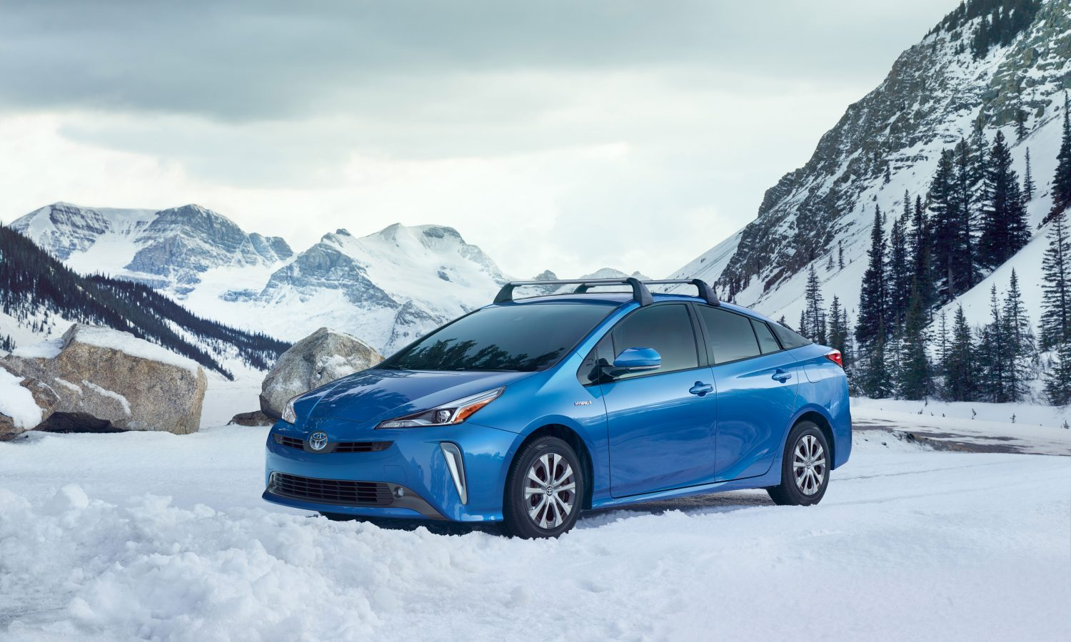 2019 Prius is Most Capable Yet Thanks to Available New AWD-e System