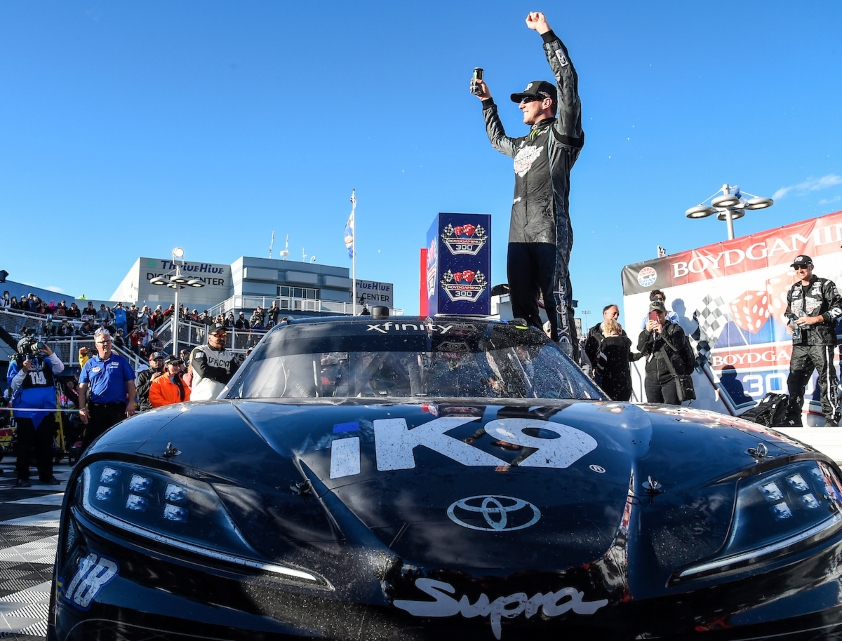 Deegan and Busch Victorious in Vegas