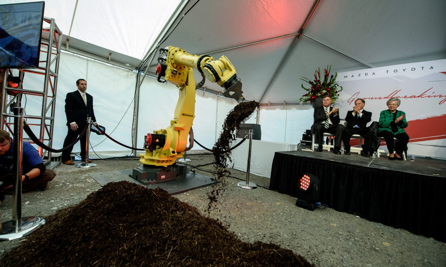 Mazda Toyota Plant Paving the Way for Groundbreaking Future