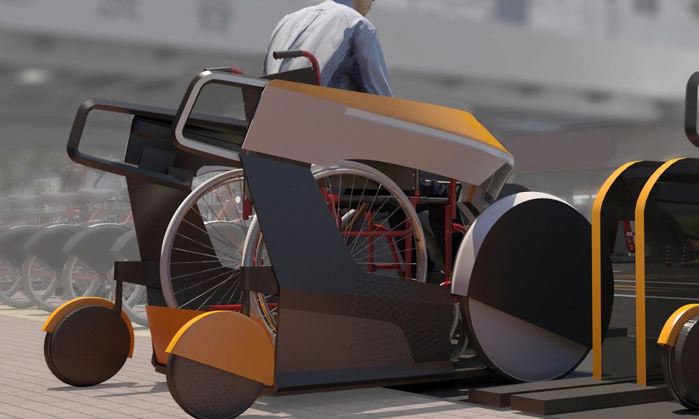 Toyota Mobility Foundation: Moby Italdesign