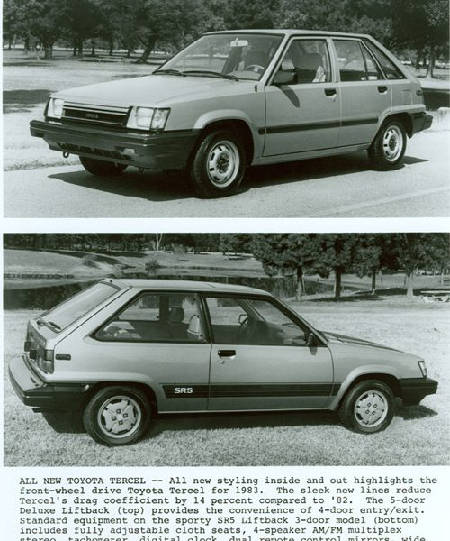 1983 – 1986 Toyota Tercel [Second (2nd) Generation]