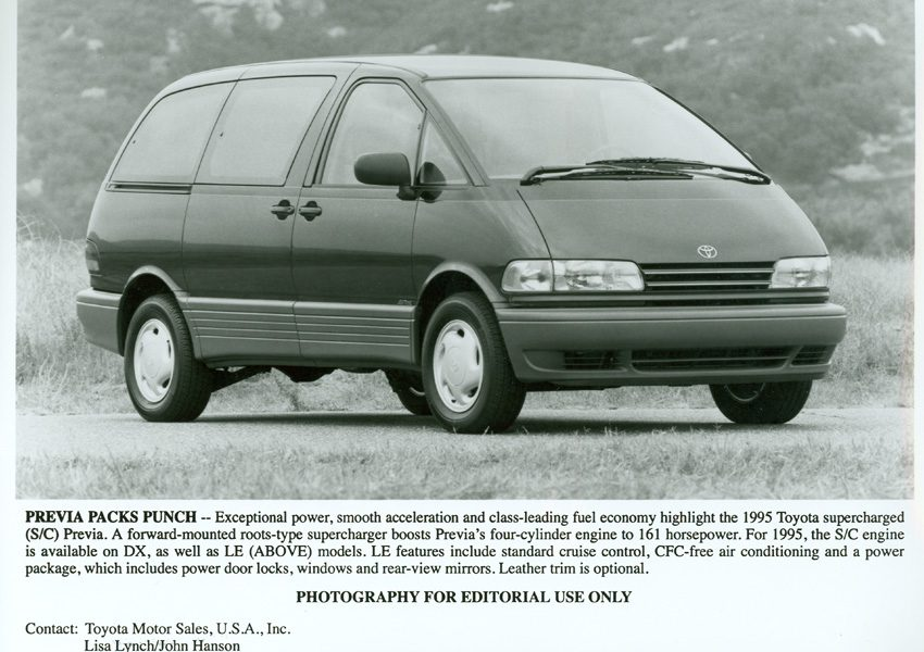 1995 – 1997 Toyota Previa LE Supercharged 008