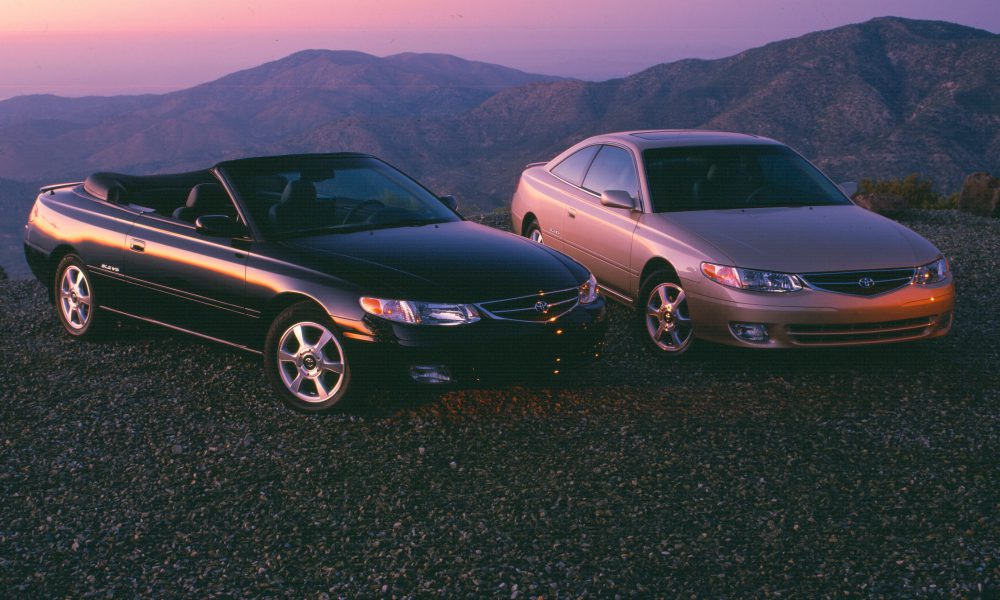 2001 Toyota Camry Solara Coupe and Convertible