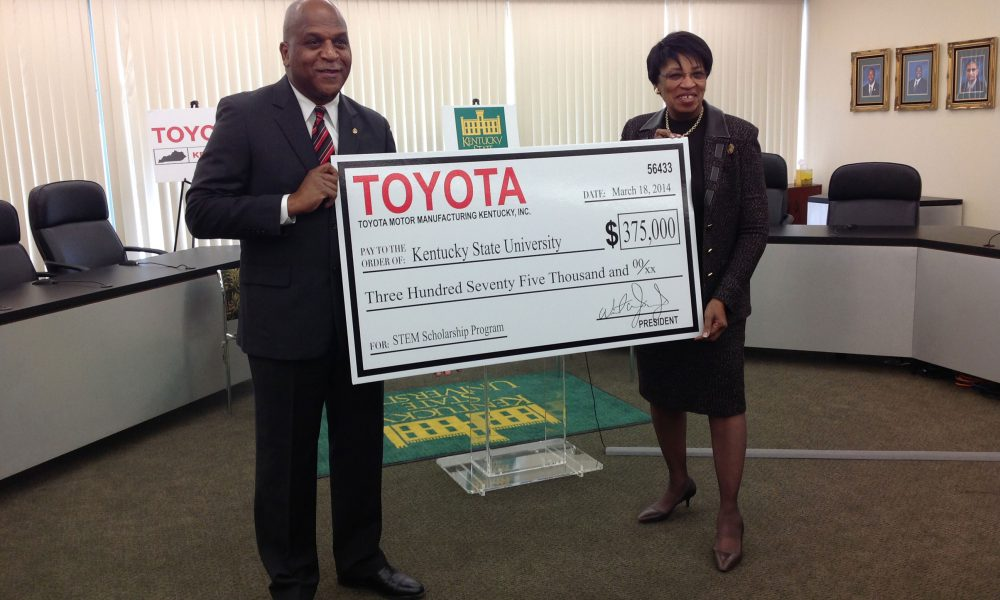 Toyota Plant Partners with Kentucky State University to Develop Top-Notch Mechanical-Engineering Students