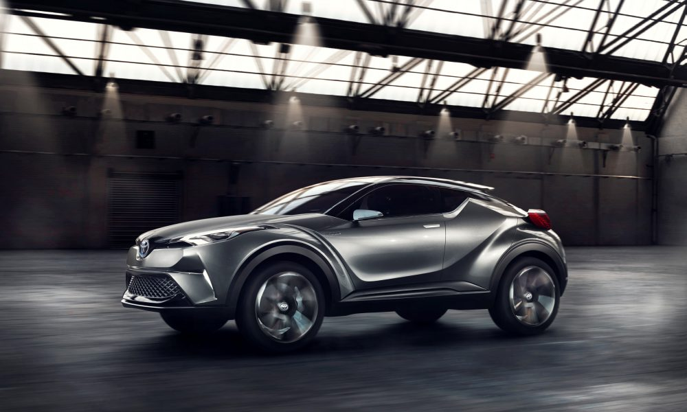Toyota C-HR Concept Gets a Step Closer to Production