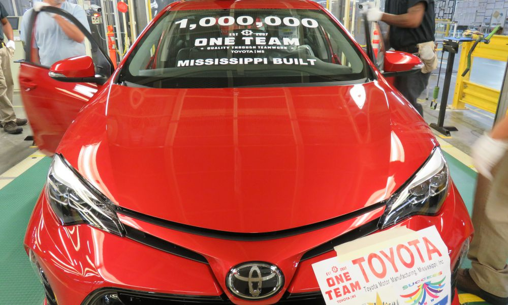 10 Years and One Million Corollas Strong