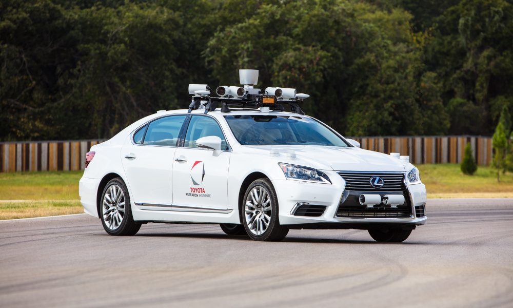 Toyota Research Institute Demonstrates Progress in Advanced Technology Research