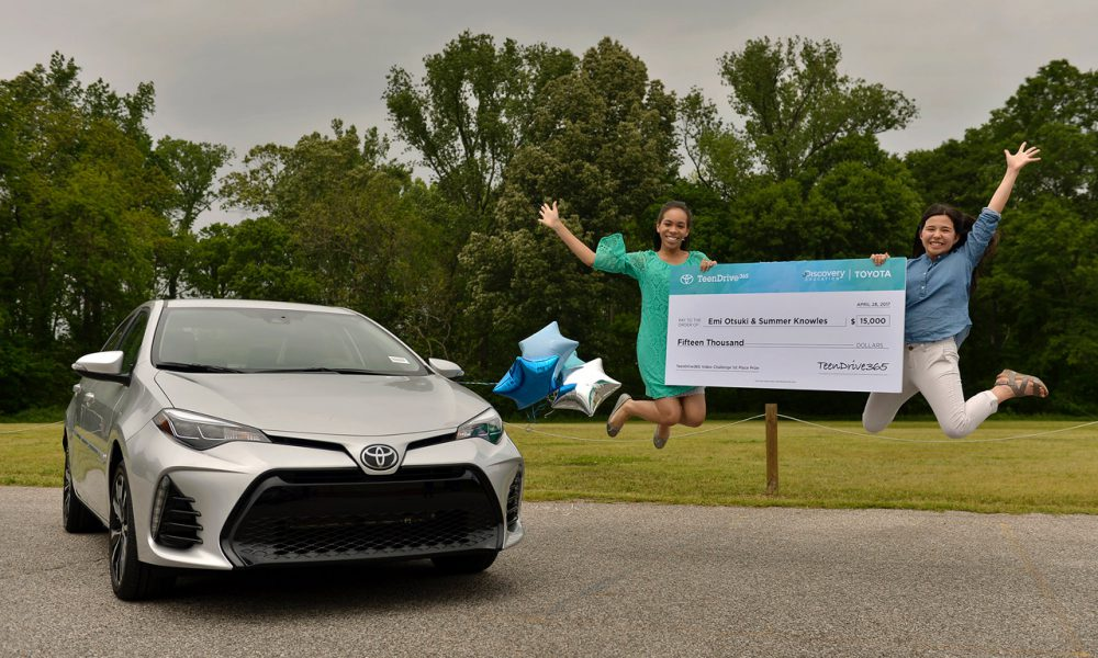 Driv'n and 'Stayin' Alive': High School Students from  Memphis, TN-Area Win Grand Prize in Toyota TeenDrive365 Video Challenge