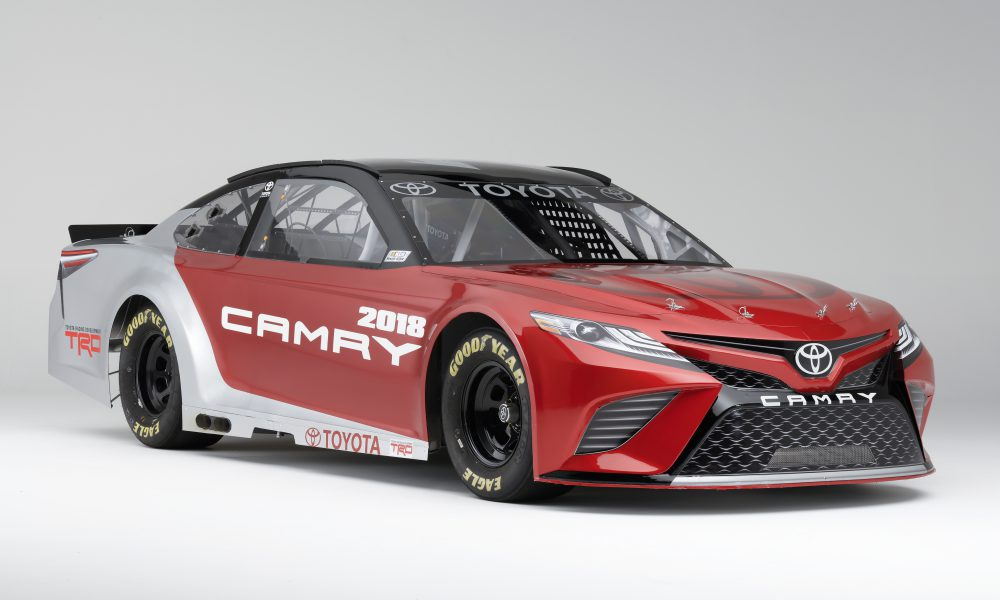 Toyota Unveils 2018 NASCAR Camry at North American International Auto Show