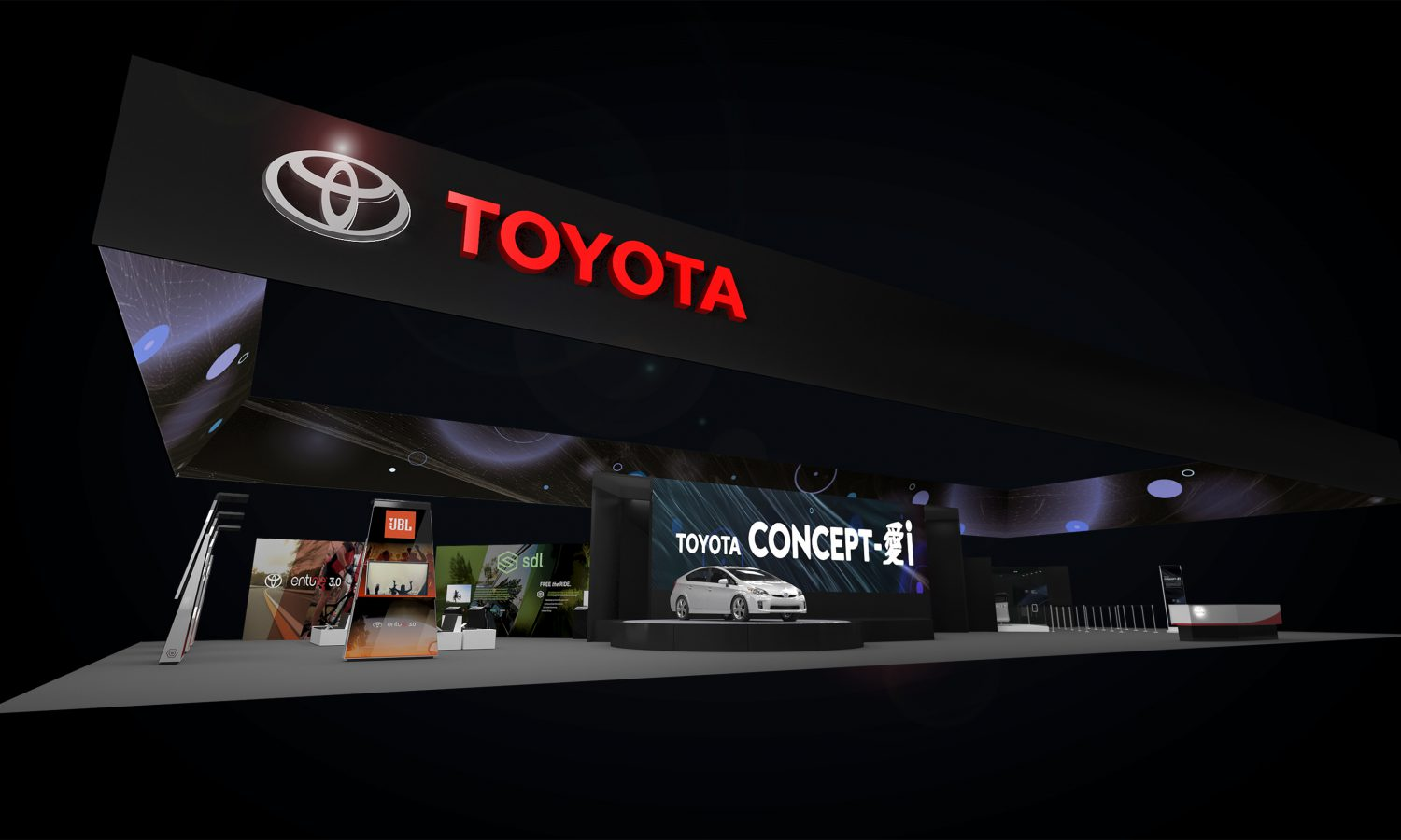 Toyota Shows the Future of Driver-Vehicle Interaction at the Consumer Electronics Show