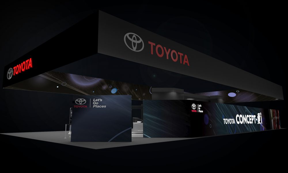 2017 Consumer Electronics Show (CES2017) – Toyota Display 03