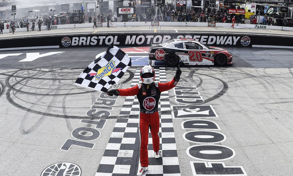 Christopher Bell NXS win 4.8