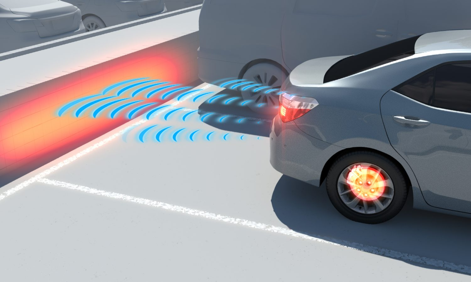 Toyota Announces the Accident Reduction Effects of Intelligent Clearance Sonar, a Safety Support Technology for Parking