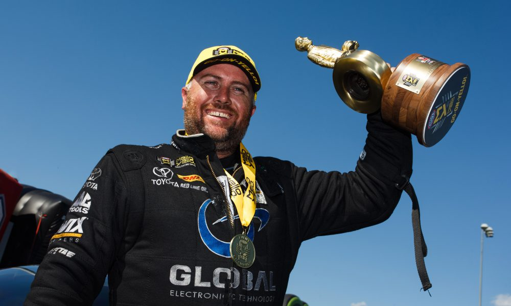 Camry Funny Car Victory in Charlotte