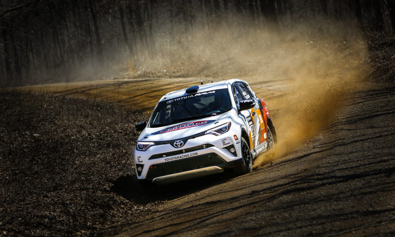 Toyota and Rally RAV4 Go Back to 100 Acre Wood with a Vengeance
