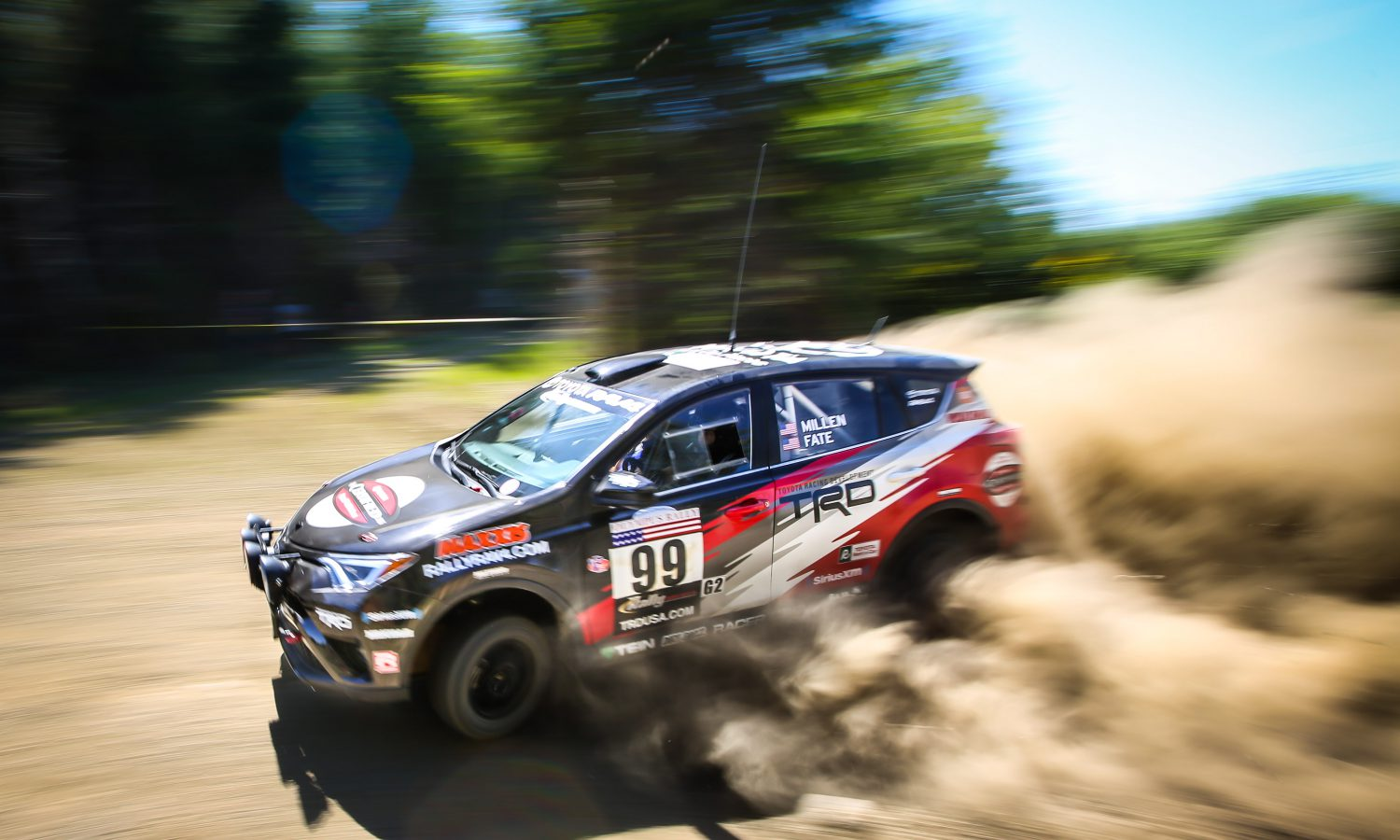 Win at Olympus Marks Back-to-Back Victories for Toyota RAV4