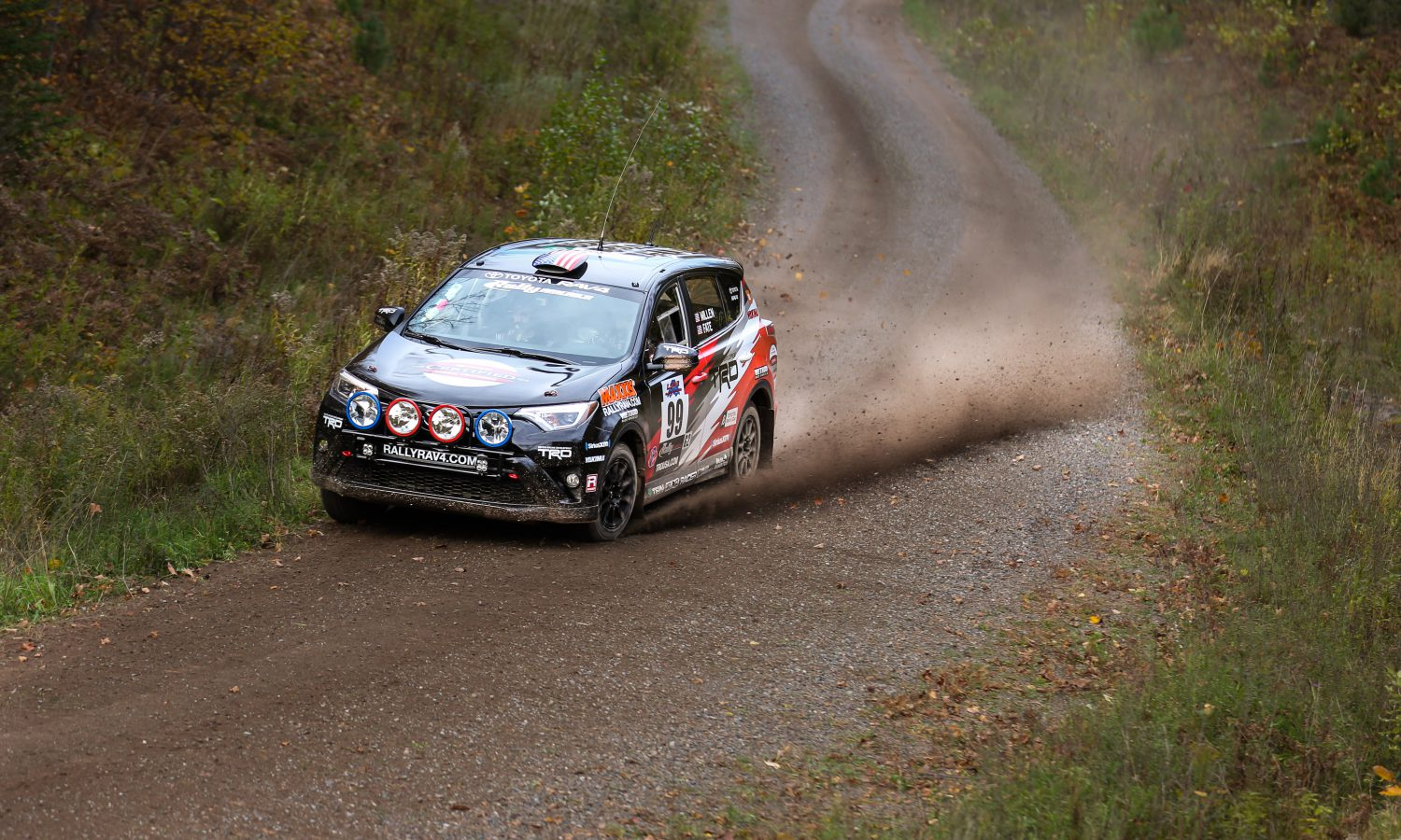Rally RAV4 Finishes Second in National Championship in First Attempt