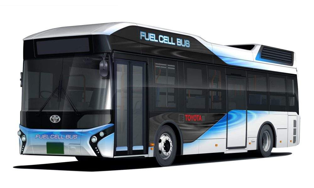 Toyota Fuel Cell Bus (Japan)