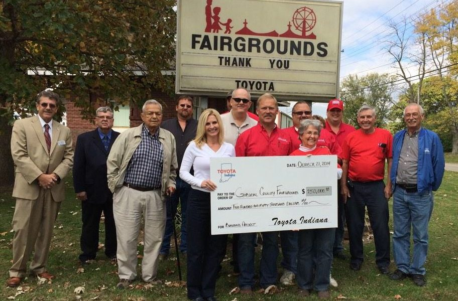 Toyota Indiana Supports 39 Ways to Improve Our Community