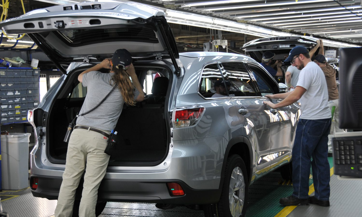 Toyota Indiana Plant Rings in 2017 with New Jobs