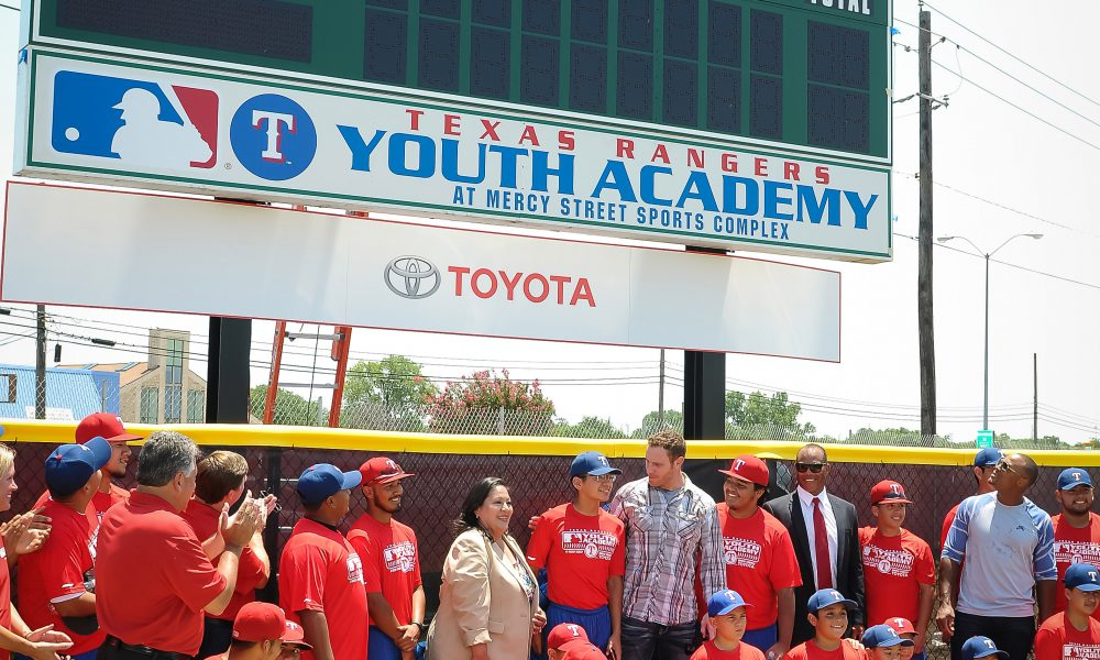 Toyota Makes Million Dollar Commitment to Youth and Family Programs at New Texas Rangers MLB Youth Academy