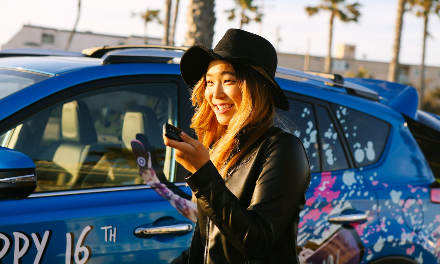 Toyota Adds Professional Snowboarder Chloe Kim to Team Toyota Roster
