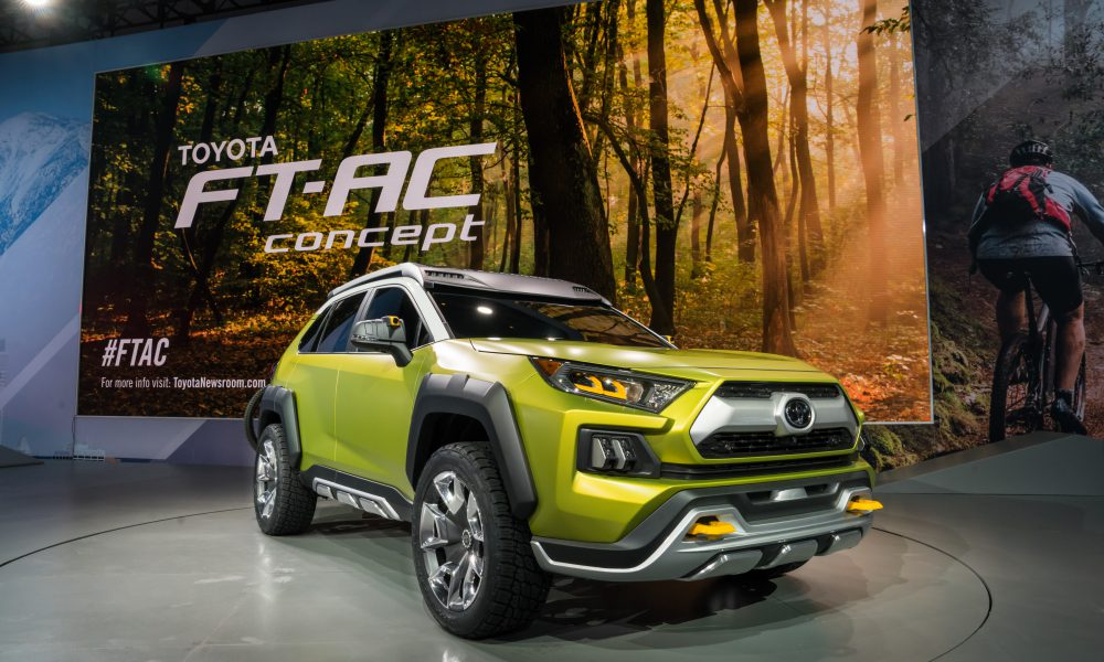 Future Toyota Adventure Concept (FT-AC) Takes Outdoor Fun to New Levels at 2017 Los Angeles Auto Show