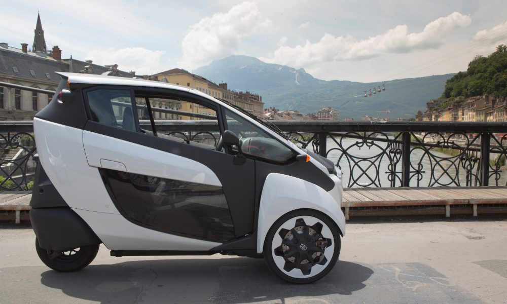 2014 Grenoble Smart City Cité lib by Ha:mo Program – Toyota i-Road 001