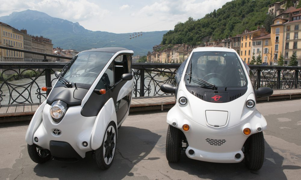 2014 Grenoble Smart City Cité lib by Ha:mo Program – Toyota i-Road/COMS 001