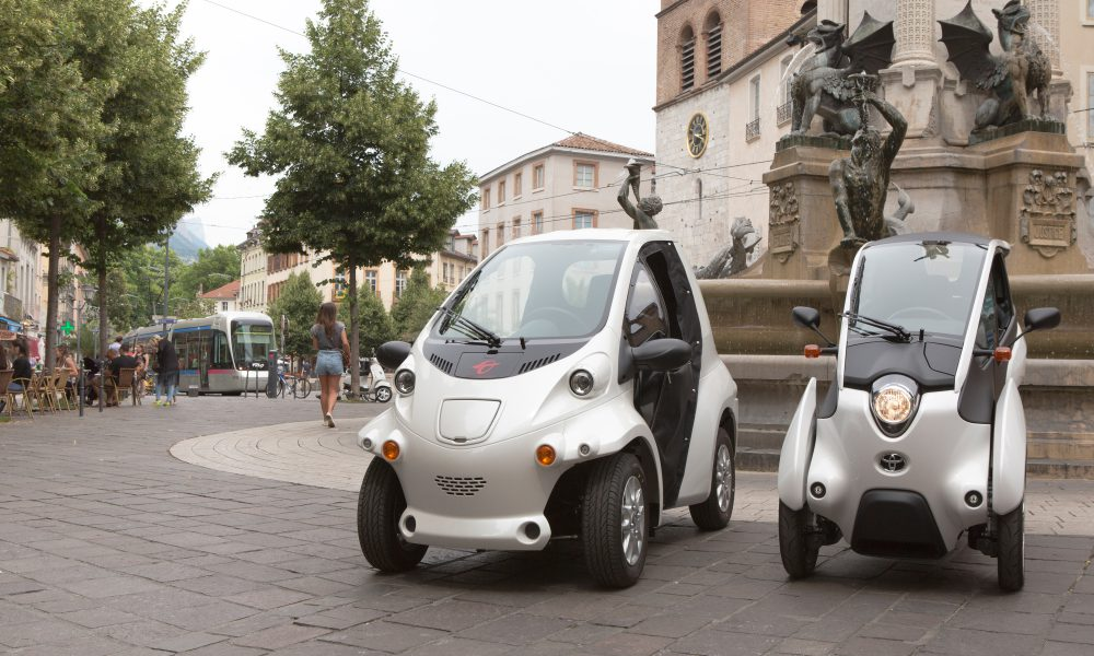 2014 Grenoble Smart City Cité lib by Ha:mo Program – Toyota i-Road/COMS 002