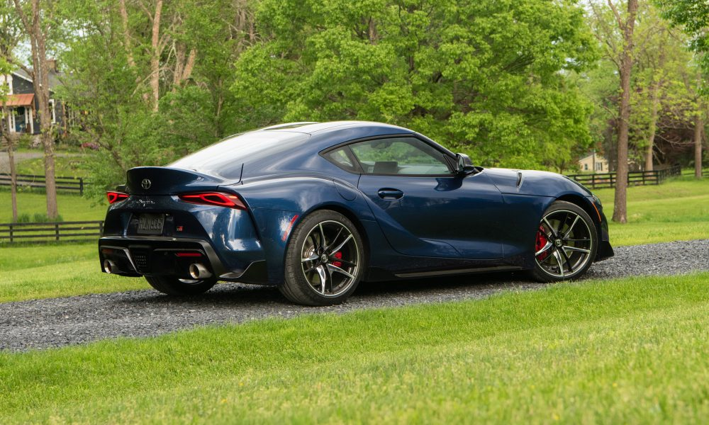 2020 GR Supra Downshift Blue