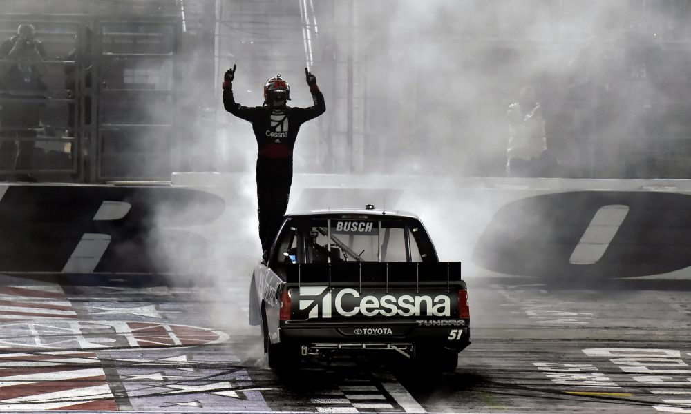 Kyle Busch and Chandler Smith Victorious in Toyotas