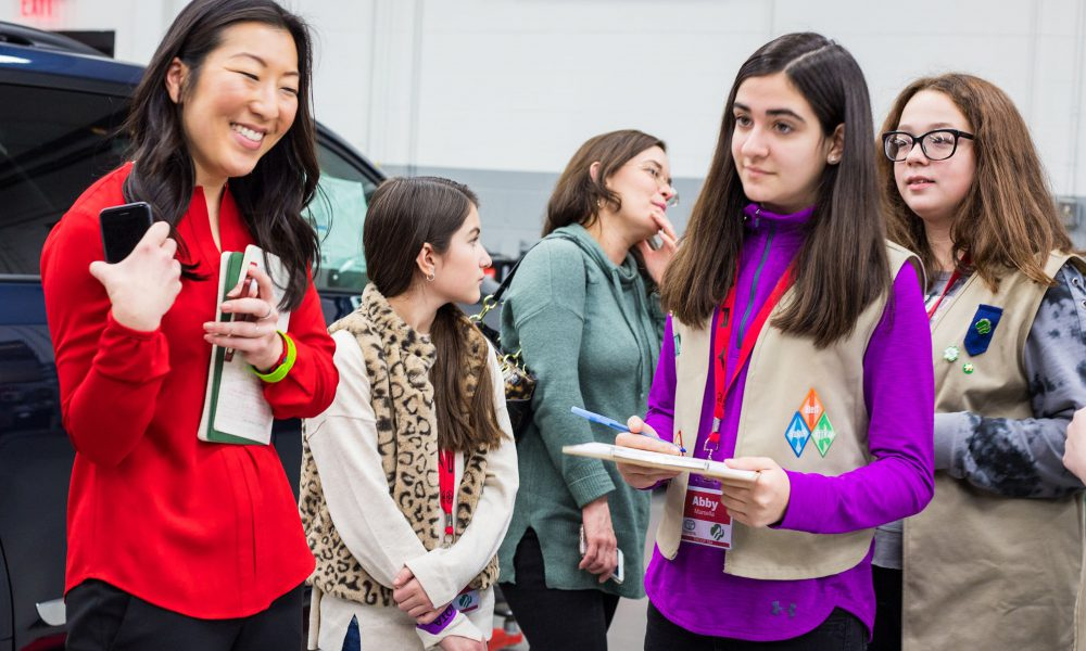 Girl Scouts Toyota Business Badge 2019 05