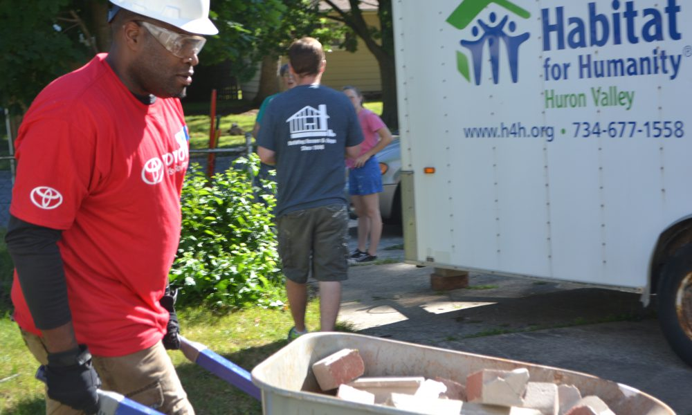 Toyota RD Drive4Five Habitat For Humanity Of Huron Valley