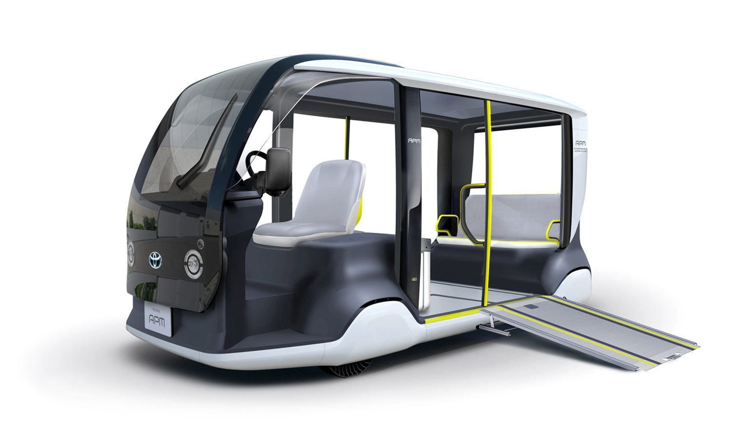 """Toyota Supports Tokyo 2020 with Specially-designed """"APM"""" Mobility Vehicle"""