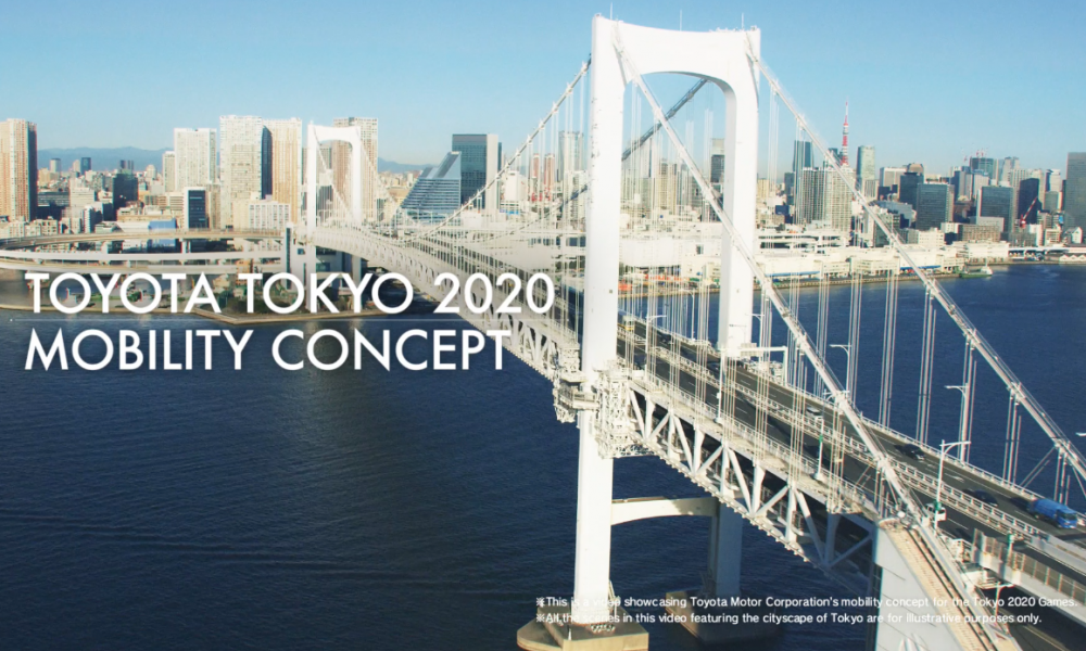 Toyota Tokyo 2020 Mobility Concept Video