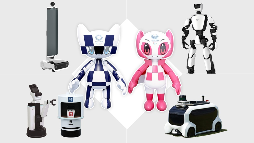 Toyota Robots Help People Experience Their Dreams of Attending the Olympic and Paralympic Games Tokyo 2020
