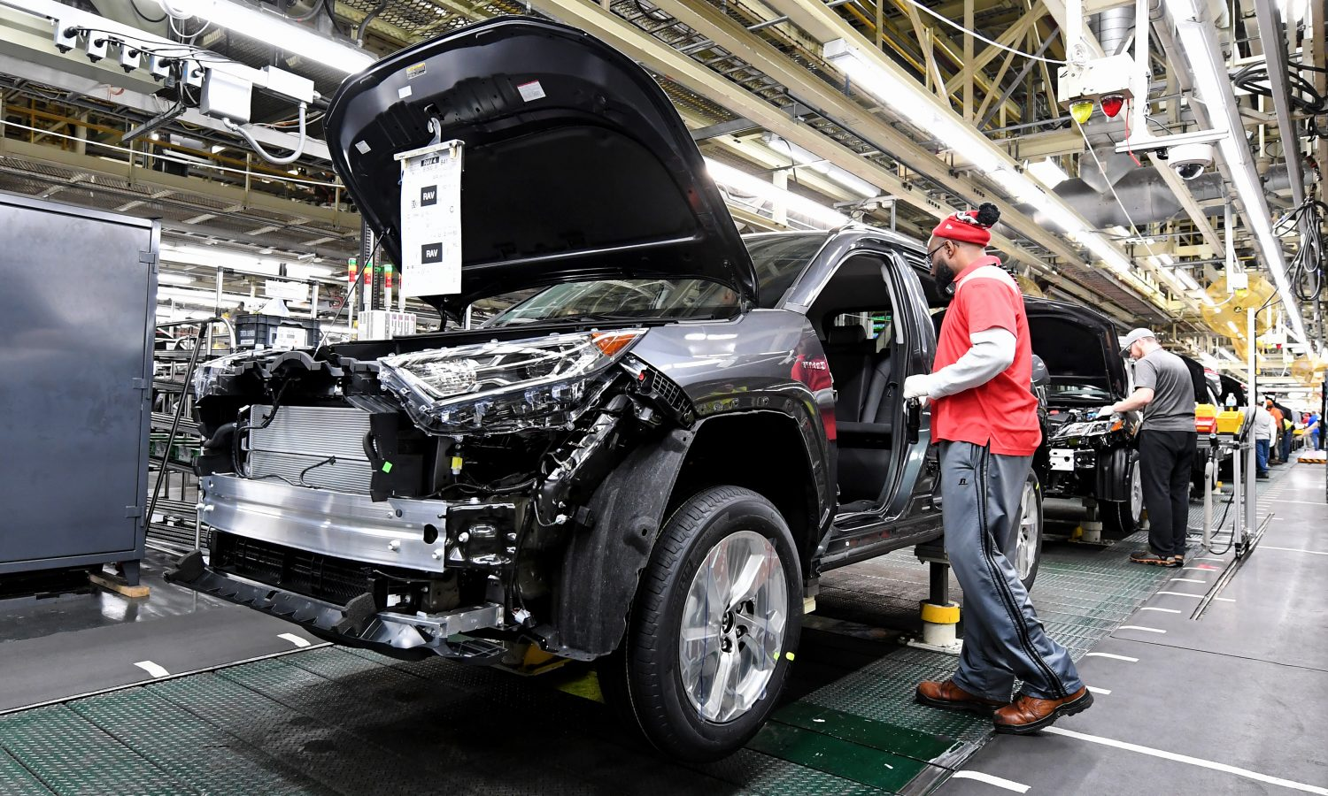 Toyota's Largest Plant in the World Finds a Home in Kentucky
