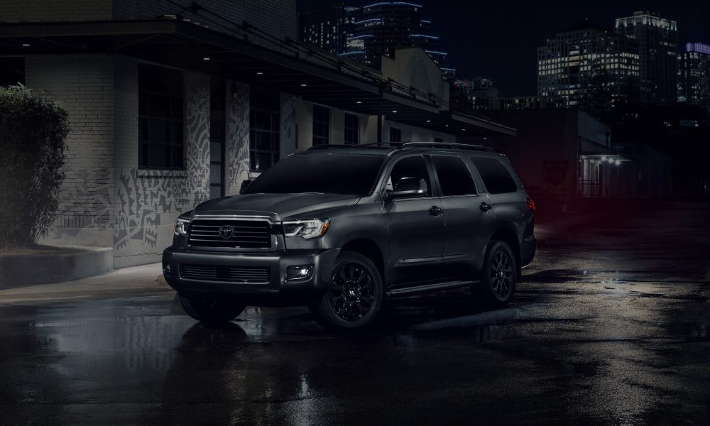 Big is Beautiful: 2021 Toyota Sequoia Adds Sizzle with Nightshade Edition