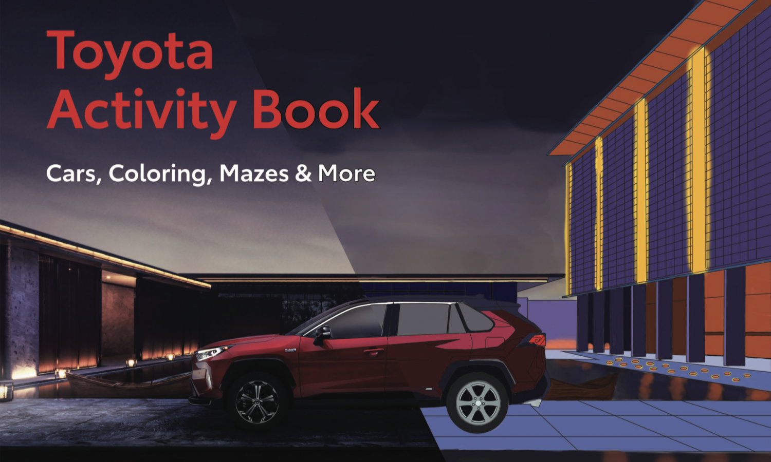 Toyota Offers Fun At-Home Activity Packs for All Ages