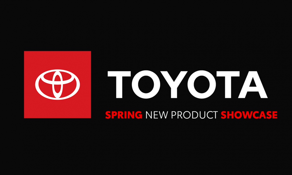 Toyota Spring New Product Showcase