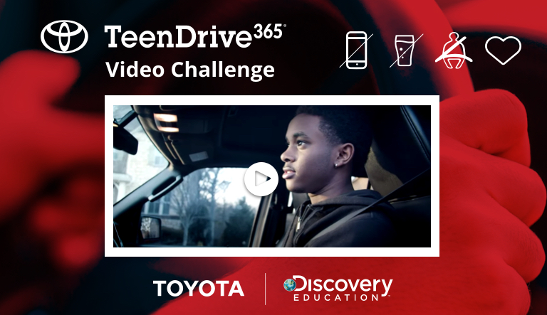 Toyota and Discovery Education Announce TeenDrive365 Video Challenge Winners as Part of Digital Learning Program Supporting Students' Lifelong Safe Driving Habits