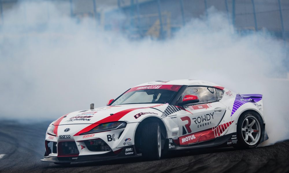 "GReddy Performance GR Supra ""Drifts"" into Toyota's SEMA360 Showcase"