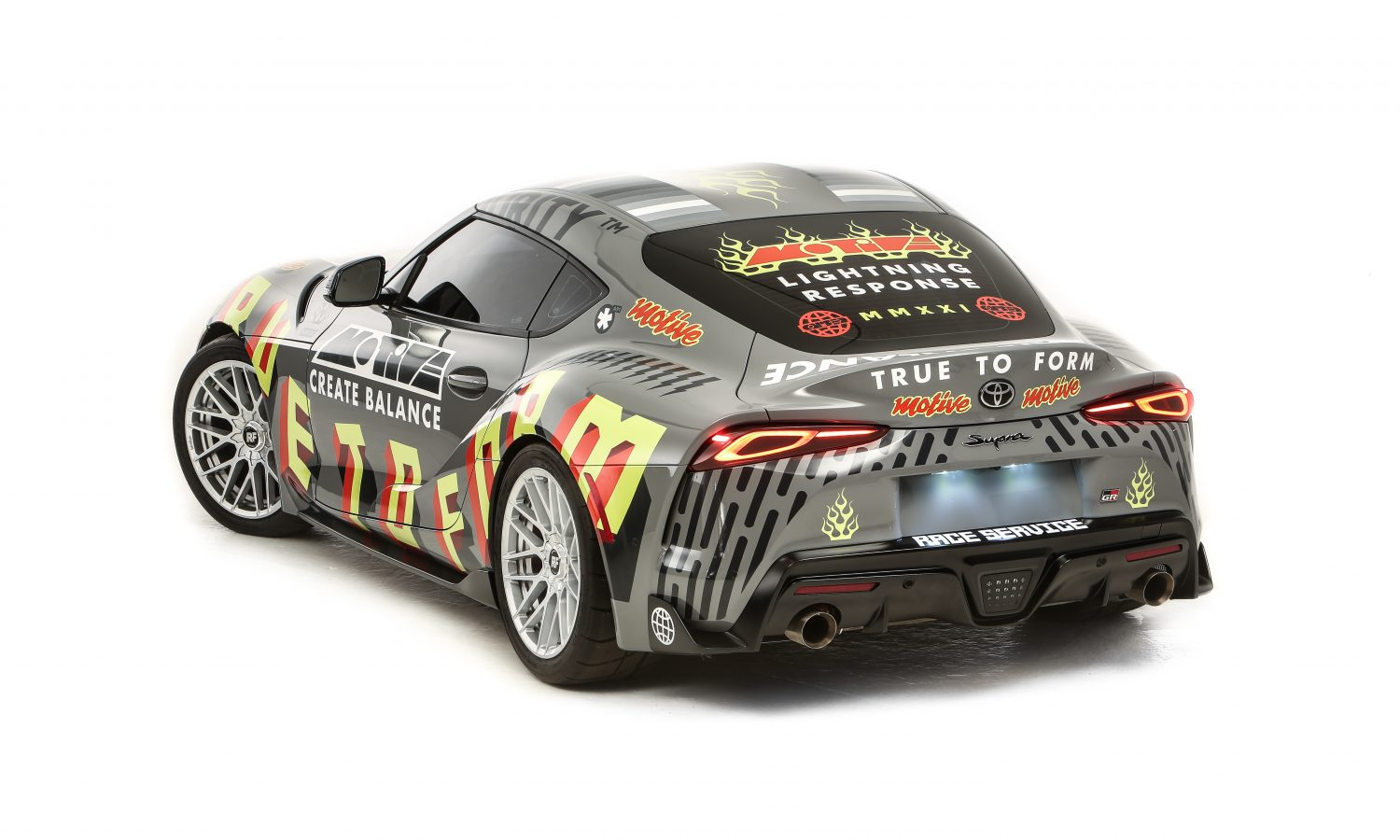 Toyota and Race Service Partner to Create the Ornamental Conifer GR Supra