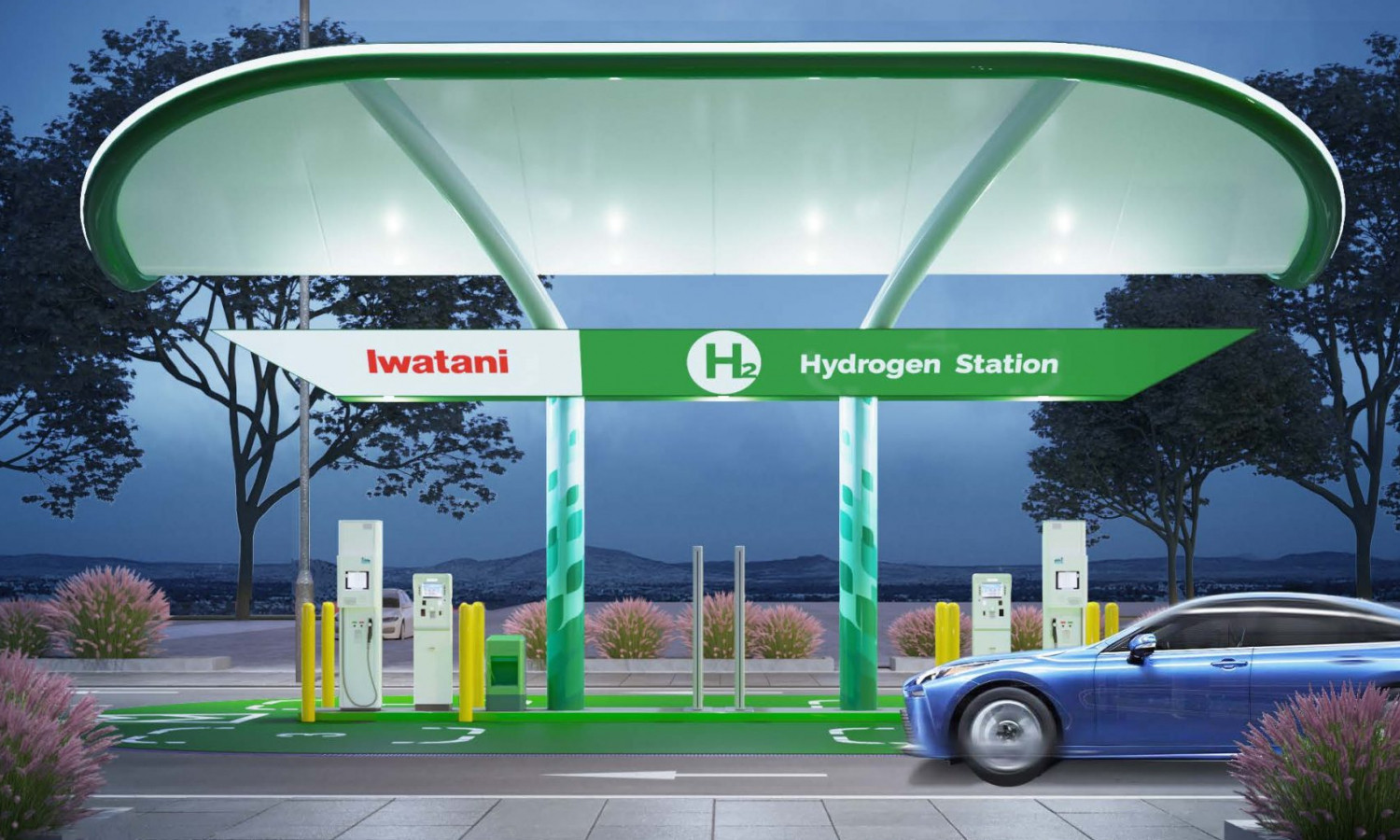 Iwatani Corporation of America and Toyota Collaborate to Bring Seven New Hydrogen Refueling Stations to Southern California