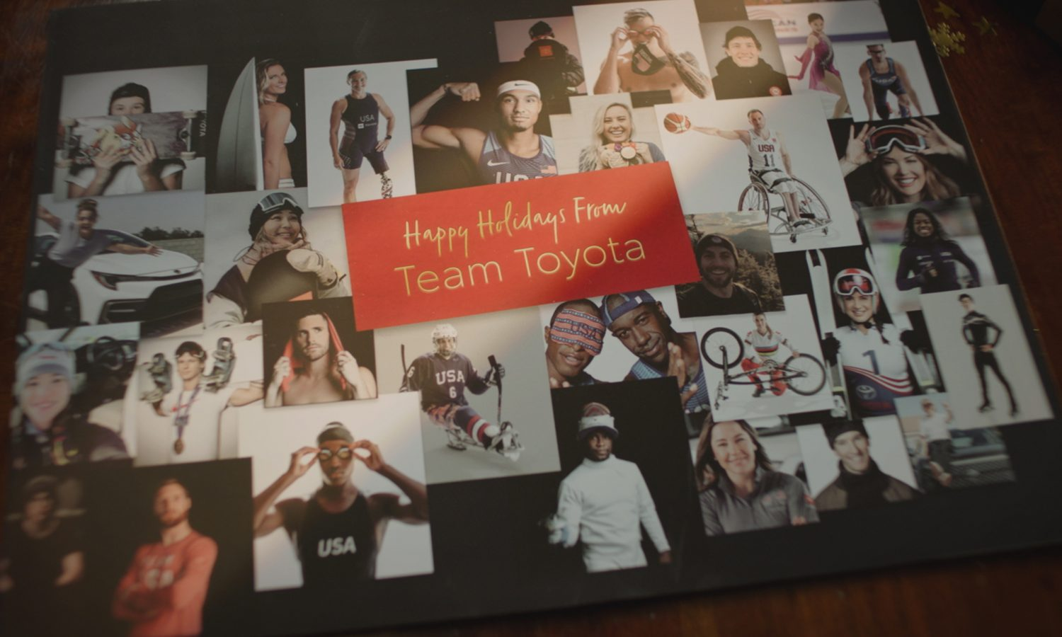 Holiday Wishes from Team Toyota