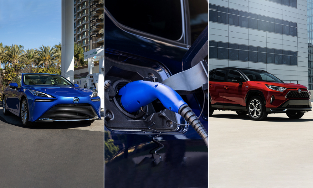 Toyota to Debut Three New Electrified Vehicles for U.S. Market