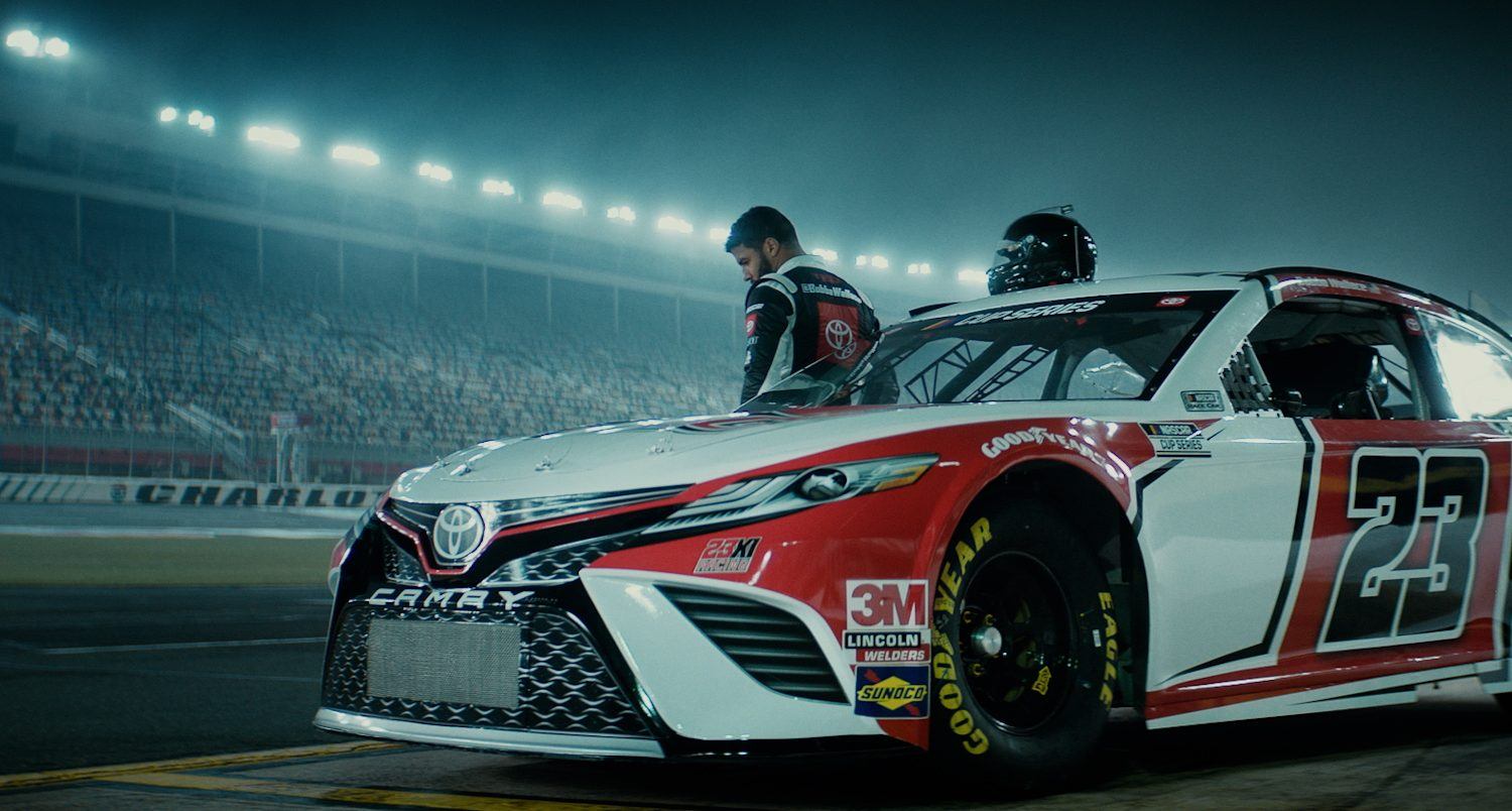 Toyota Racing Premieres 'The Dream'
